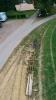 April 2017 Trassenausbau und Weichenverlegung