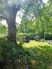 Romantische Einfahrt zu Haferkamps kleiner Gartenwirtschaft.