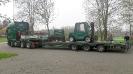 6.4.2019; Anlieferung der neuen Schöma Lok durch die Fa. Pacton, Ennepetal.