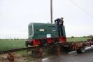2013-05-15 Rückkehr der Nelskamp Lok DS 16 von einer Ausstellung.