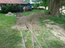 Mai 2016 - Weiterbau Gleisanschluß für die DFL 60