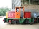 2006-09-02 Die Lok befindet sich heute unzugänglich hinterstellt in Prora auf Rügen.